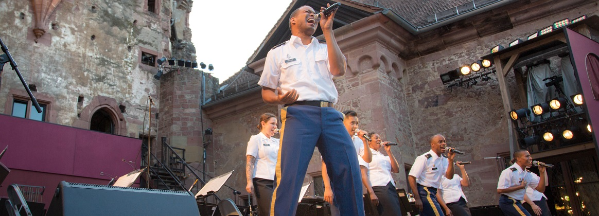 SGT Wilson performs in Heidelberg